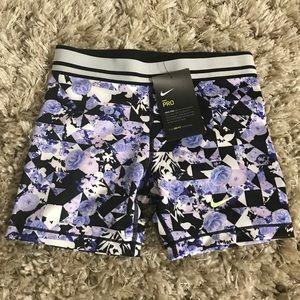 Nike Girl's Pro Shorts - New